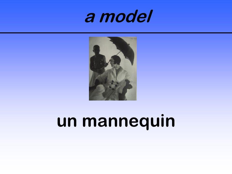 a model un mannequin