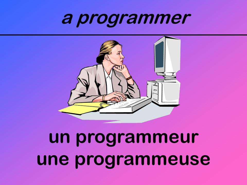 a programmer un programmeur une programmeuse
