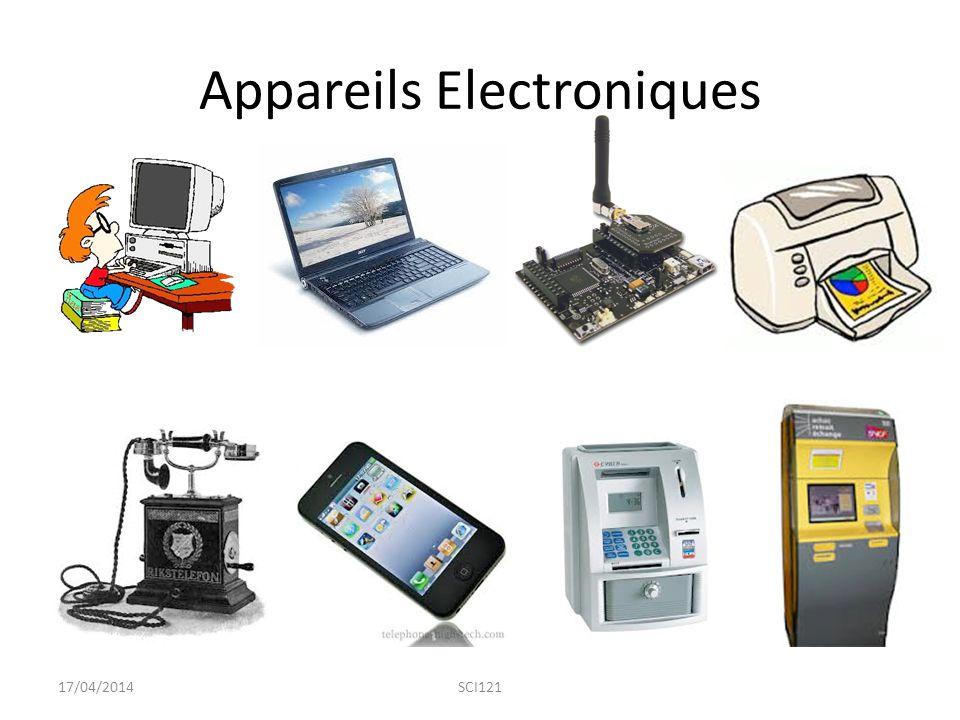 Appareils Electroniques 17/04/2014SCI121