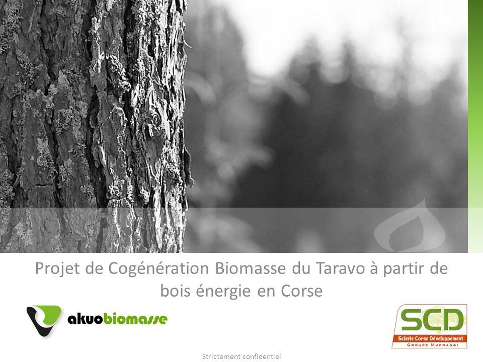 Projet de Cogénération Biomasse du Taravo à partir de bois énergie en Corse Strictement confidentiel