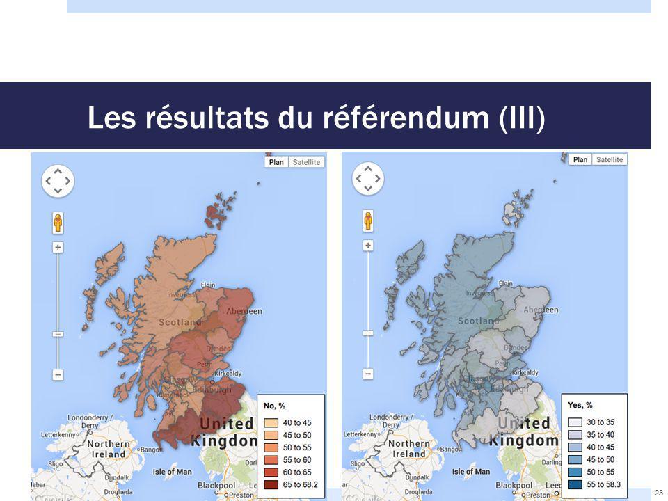 Les résultats du référendum (III) 23