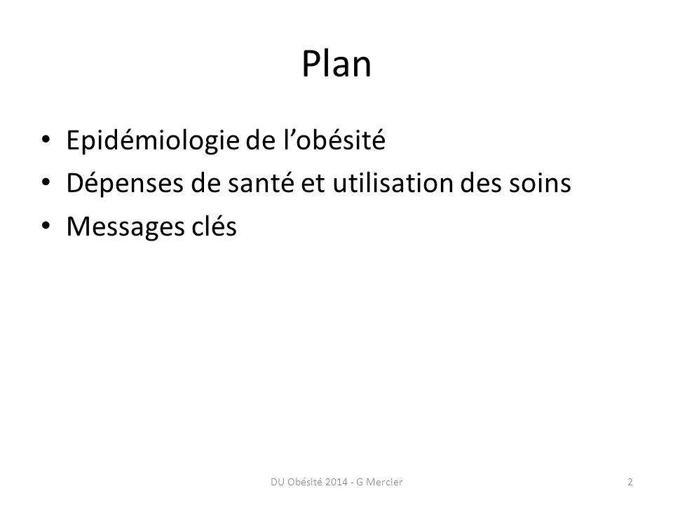 Epidémiologie DU Obésité 2014 - G Mercier3