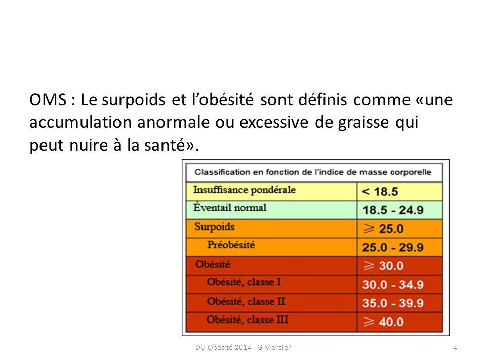 DU Obésité 2014 - G Mercier25