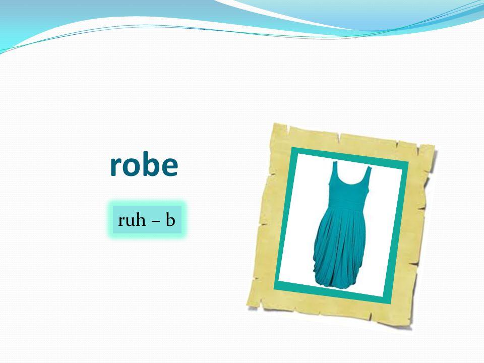 robe ruh – b