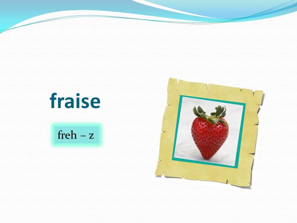 fraise freh – z