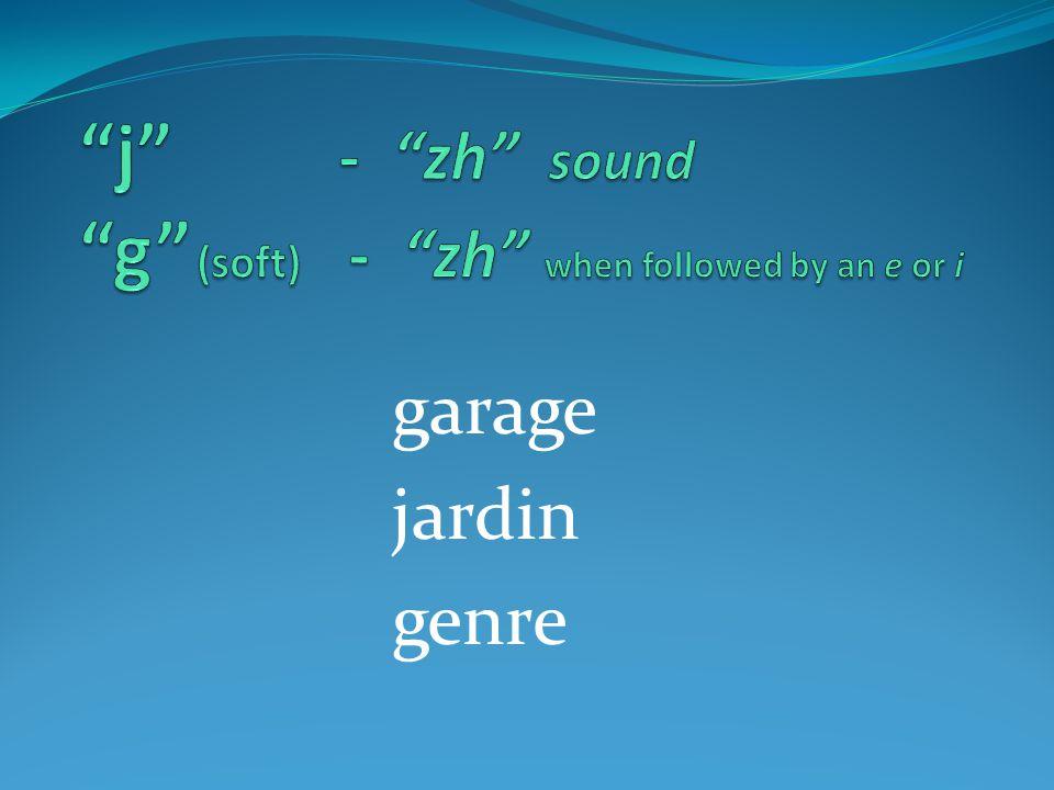 garage jardin genre