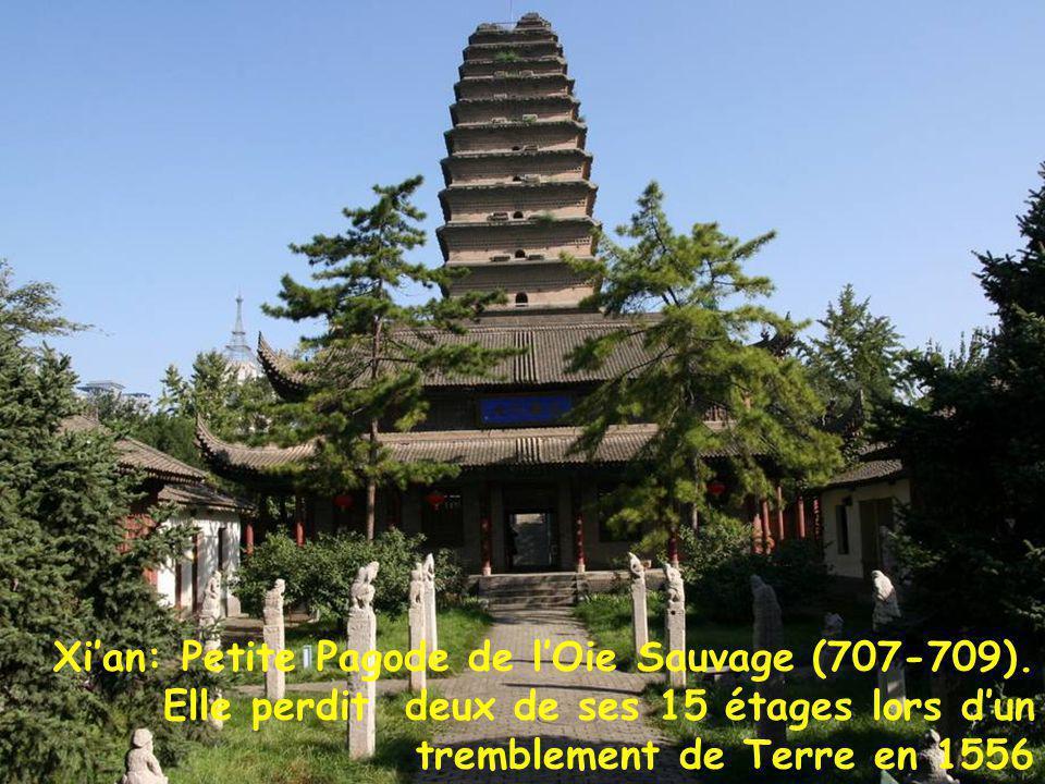 Petite pagode oie sauvage Xi'an: Petite Pagode de l'Oie Sauvage