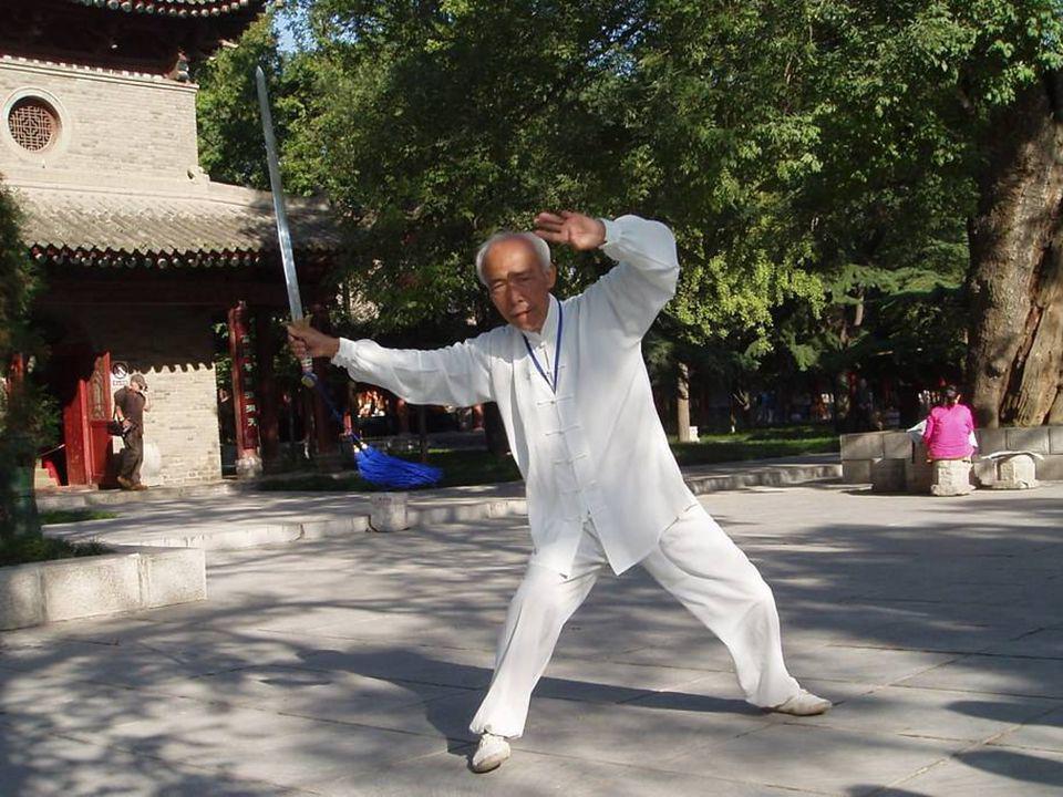 Pratique du taiqiquan