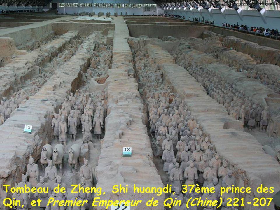 Xi'an, capitale historique de la Chine antique et médiévale: Dynastie des Qin (VIIè-207) {Chine vient de Qin} Dynastie des Han de l'ouest (206- +8) Dy