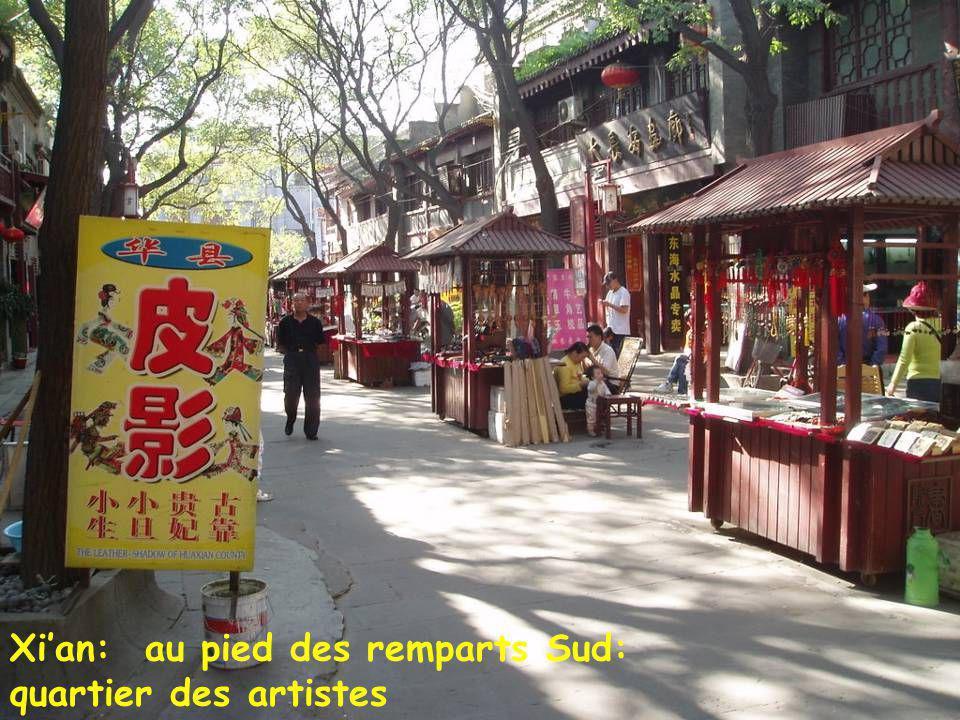 Xi'an quartier sud Xi'an: sur les remparts de la cité des Ming