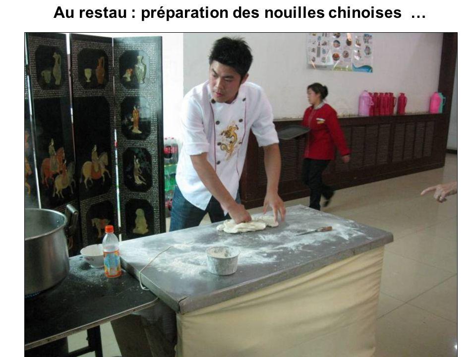 Ah, si j'avais connu les nouilles chinoises..!