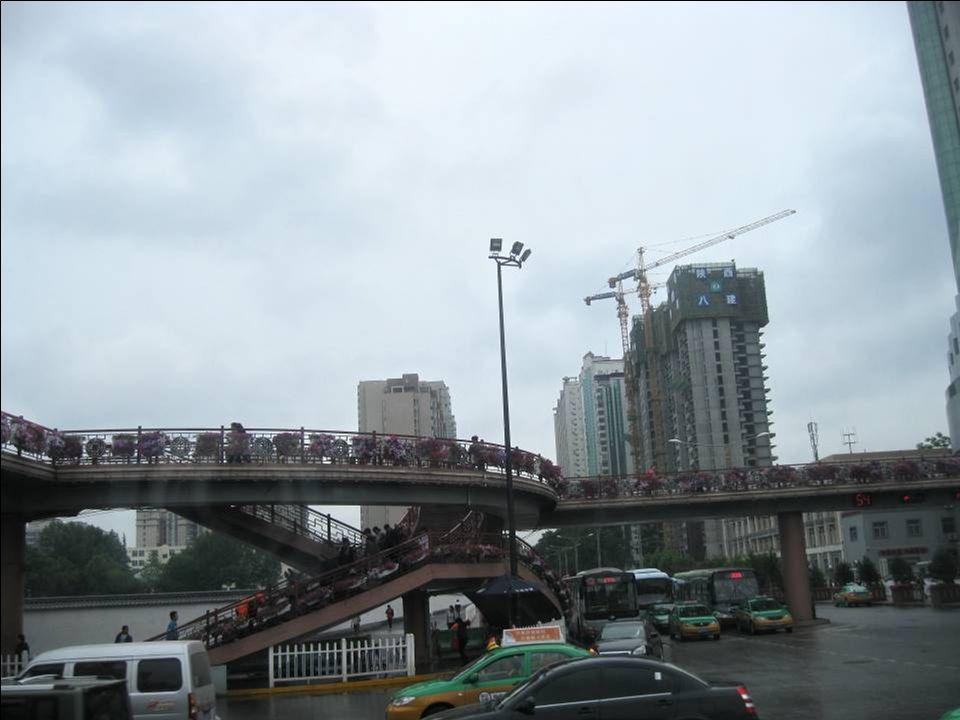 En route pour le Musée du Shanxi à Xi'An