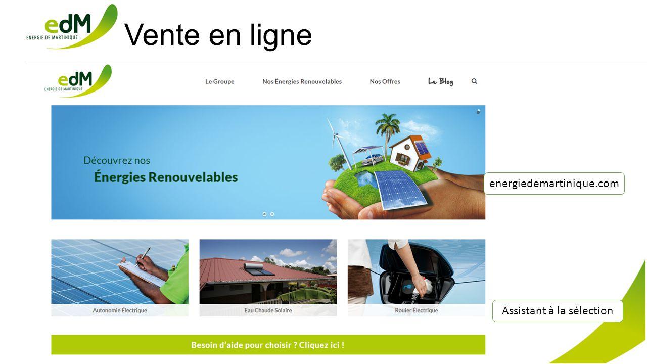 Vente en ligne Assistant à la sélection energiedemartinique.com