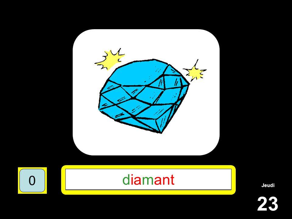 Jeudi 23 1510515 ******* 15105 D**M*** 151055 DIAMANT 151050 diamant 151050