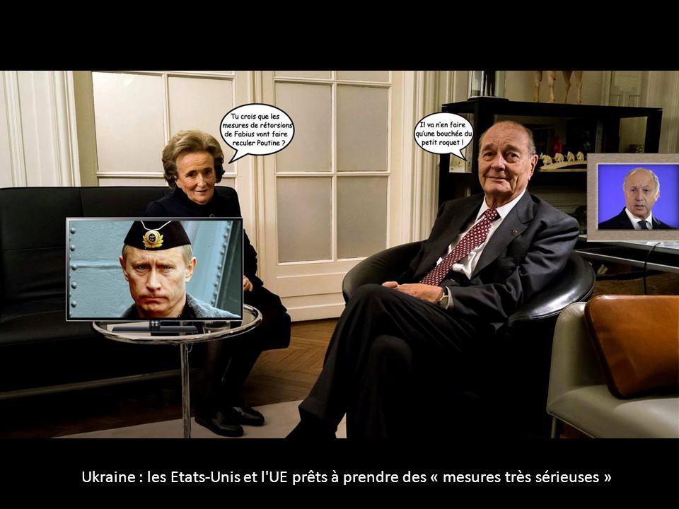Ukraine : les Etats-Unis et l UE prêts à prendre des « mesures très sérieuses »