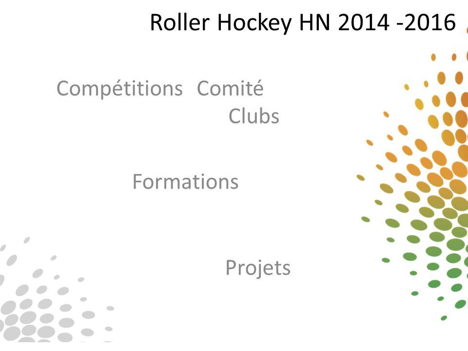 Roller Hockey HN 2014 -2016 Les championnats régionaux jeunesses étendus : Depuis trois ans, le comité a initié un projet de « développement jeunesse » basé sur une participation de jeunes venant de tous les clubs à des journées de matches.