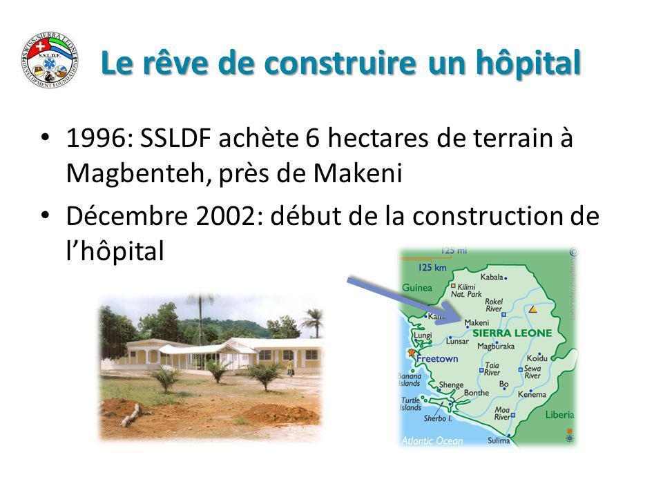 Le village est entrain de naître En début 2009, la construction commence une source d eau trouvé sur le terrain un puits creusé à 10 mètres de profondeur.