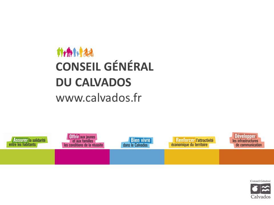 CONSEIL GÉNÉRAL DU CALVADOS www.calvados.fr
