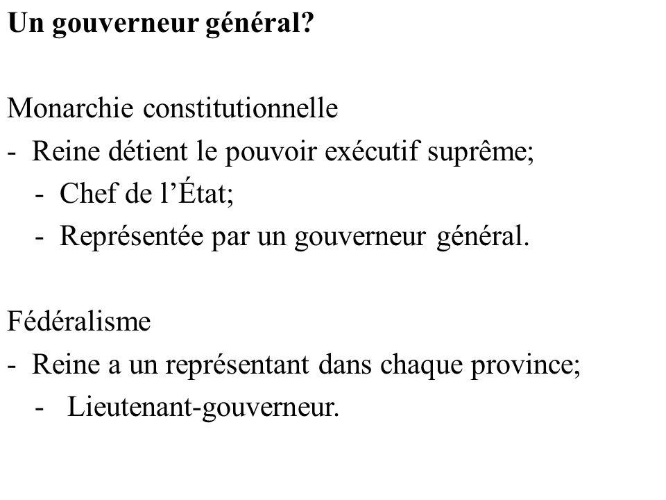 Un gouverneur général.