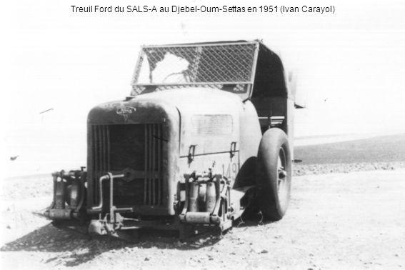 Treuil Ford du SALS-A au Djebel-Oum-Settas en 1951 (Ivan Carayol)