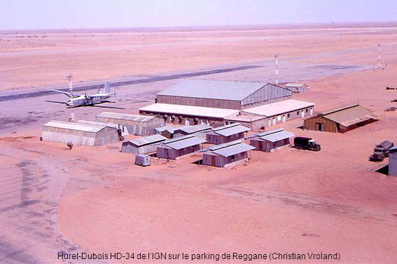 Hurel-Dubois HD-34 de l'IGN sur le parking de Reggane (Christian Vroland)