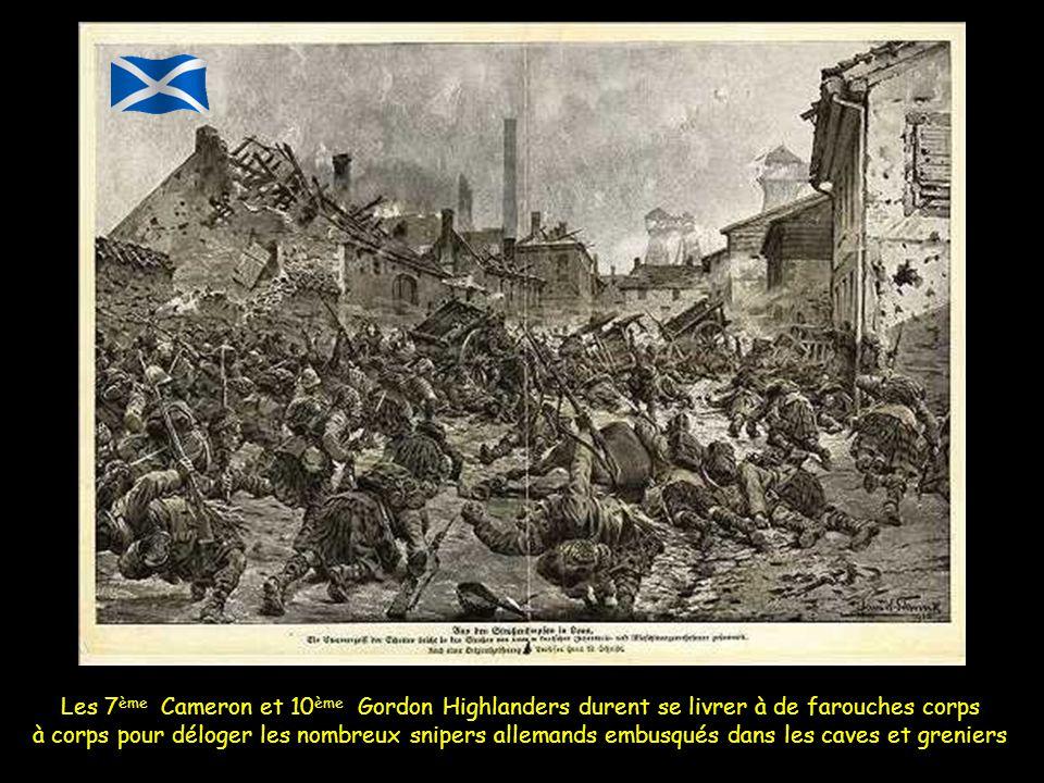 Un officier donna plus tard ses impressions à propos du comportement de la 15 e Scottish division à Loos ; il déclara : «Il semblait impossible, en re