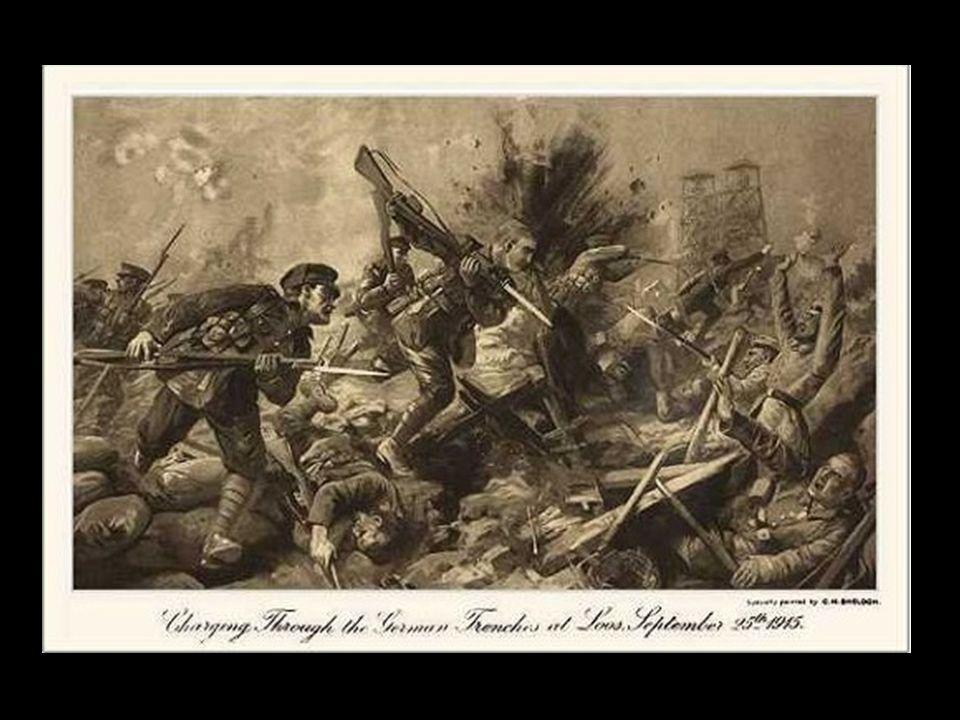 Derrière la 9 e Black Watch, les 6 e et 7 e Cameron Highlanders faisaient partie de la deuxième vague. Ils furent massacrés. La 15 e division formée d