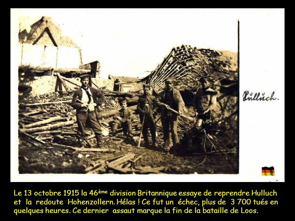 Du 8 au 9 octobre, les Allemands s'élancent à l'attaque d'un front allant de la redoute Hohenzollern à la cité Saint-Émile, en vue de reprendre le dou