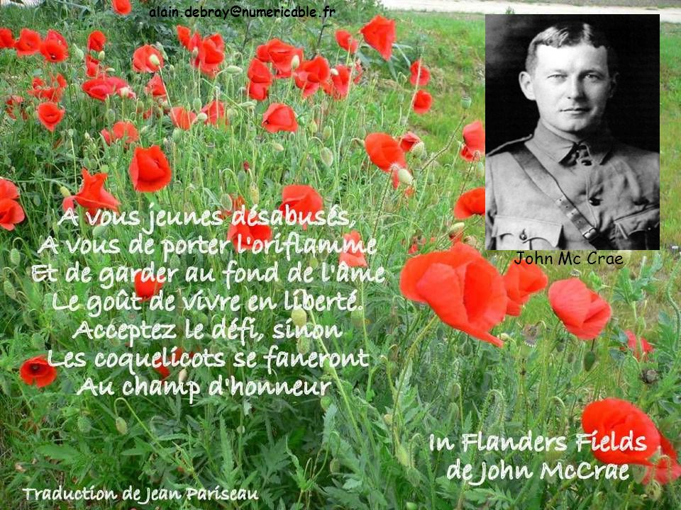 alain.debray@numericable.fr John Mc Crae