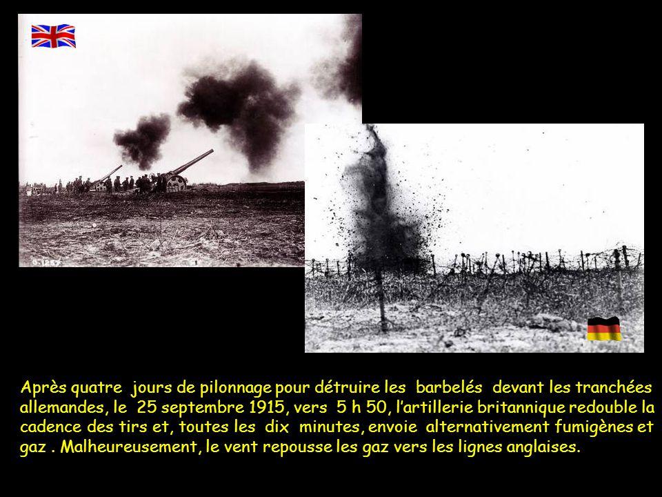 Tranchées allemandes près de la cote 70 avec le moulin et fosse n°15(Tower Bridge) Les forces en présence côté allemand En première ligne 16 ème Inf.