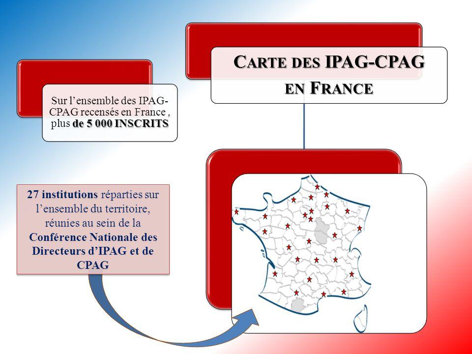   M ISSION DES IPAG-CPAG   fonctions publiques - Préparer les étudiants et les agents publics aux concours externes, internes et à la troisième vo