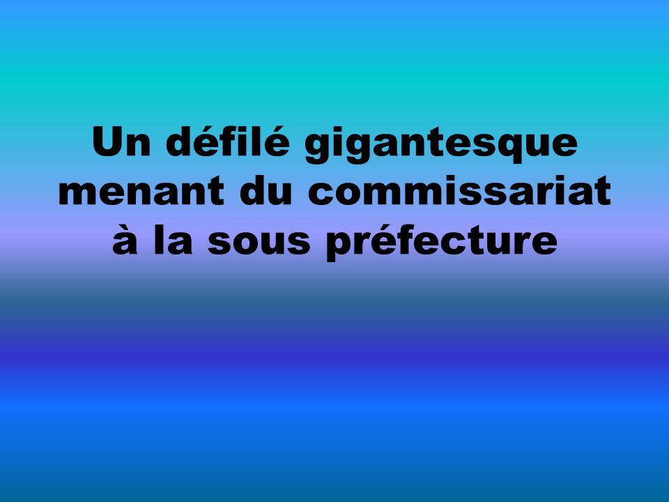 Allocution du Secrétaire Général de la FPIP devant la sous préfecture de Libourne