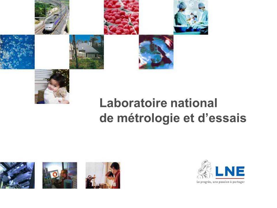 11/09/2009Présentation du dossier d'alternance 11 Intro 1 Laboratoire national de métrologie et d'essais