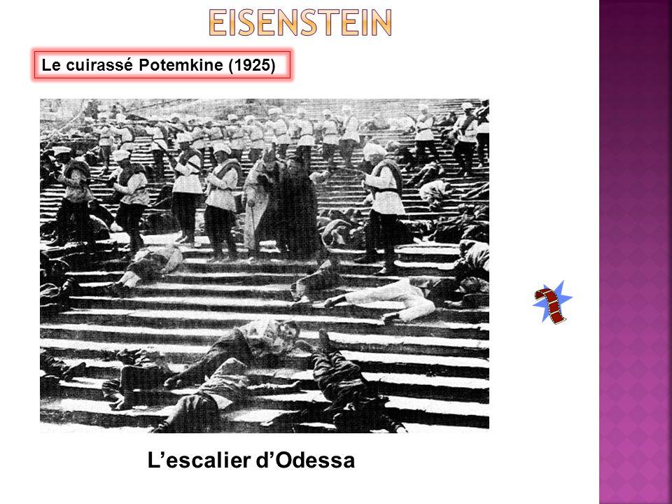 Le cuirassé Potemkine (1925) L'escalier d'Odessa