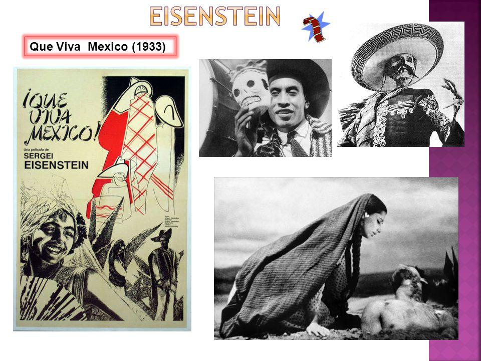 Que Viva Mexico (1933)
