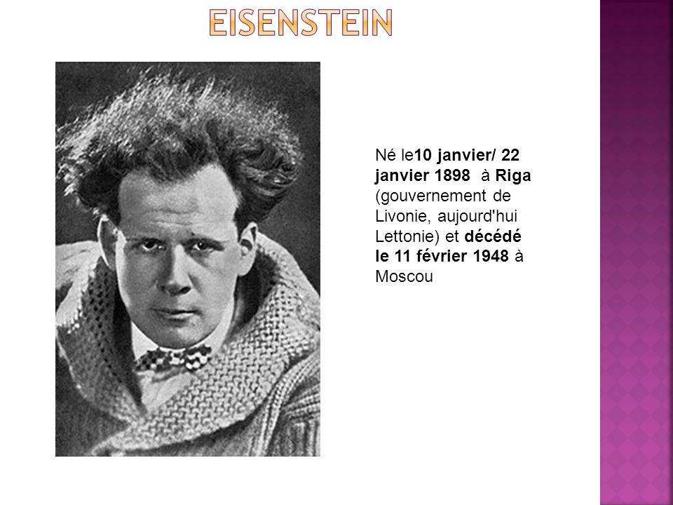 Né le10 janvier/ 22 janvier 1898 à Riga (gouvernement de Livonie, aujourd hui Lettonie) et décédé le 11 février 1948 à Moscou
