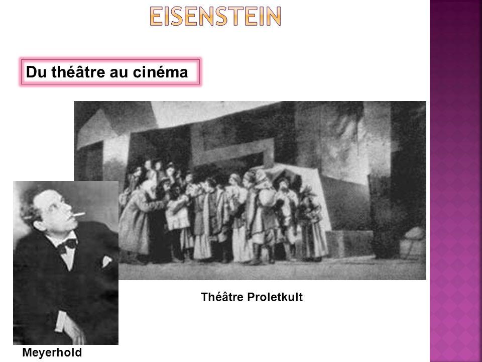 Du théâtre au cinéma Meyerhold Théâtre Proletkult