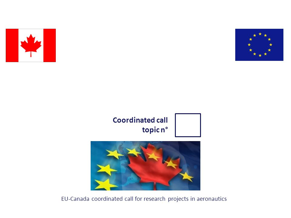 Project short Description Project TRLProject Duration EU-Canada coordinated call for research projects in aeronautics - projects ideas- 2014-19-11