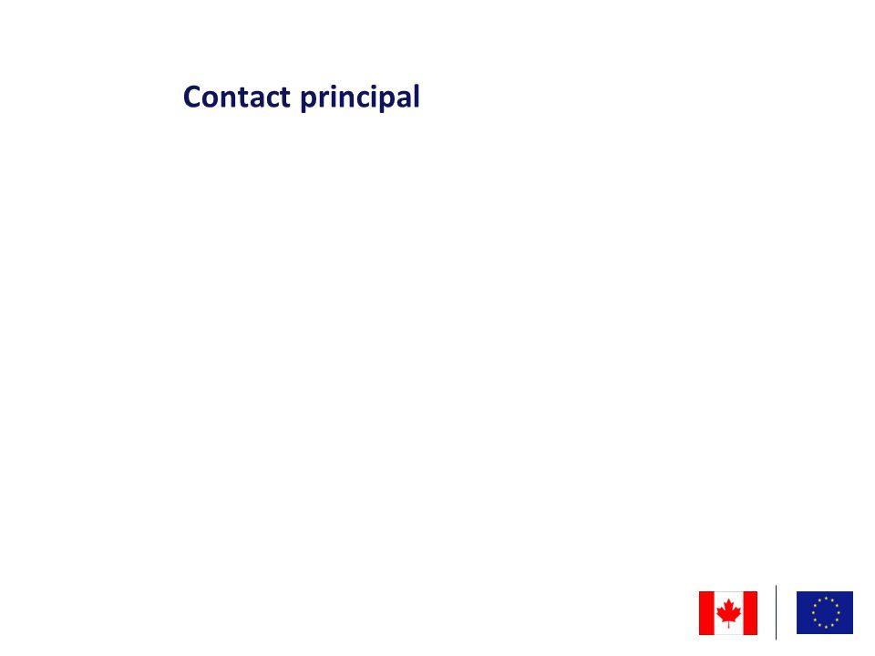 Contact principal
