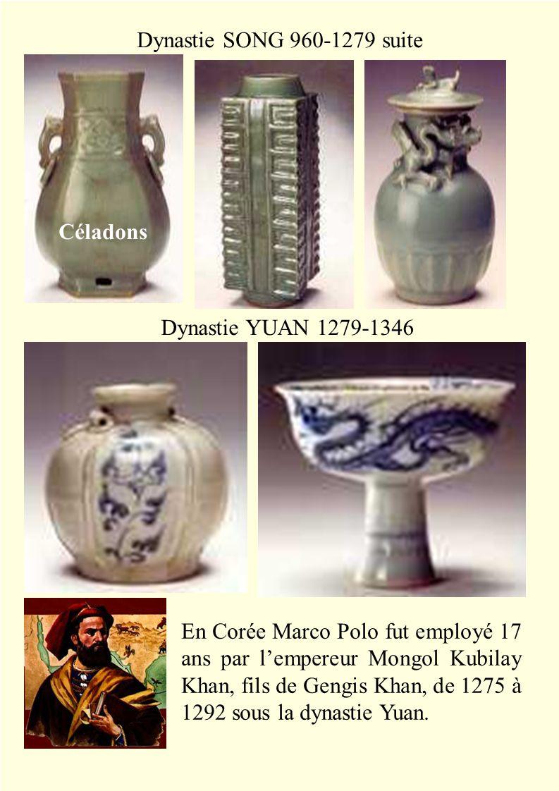 Dynastie MING 1568-1644 Dynastie QUING 1723-1735