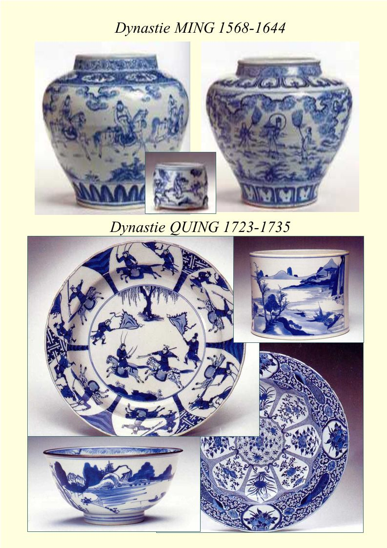 Dynastie MING 1568-1644 Dynastie QUING 1723-1735