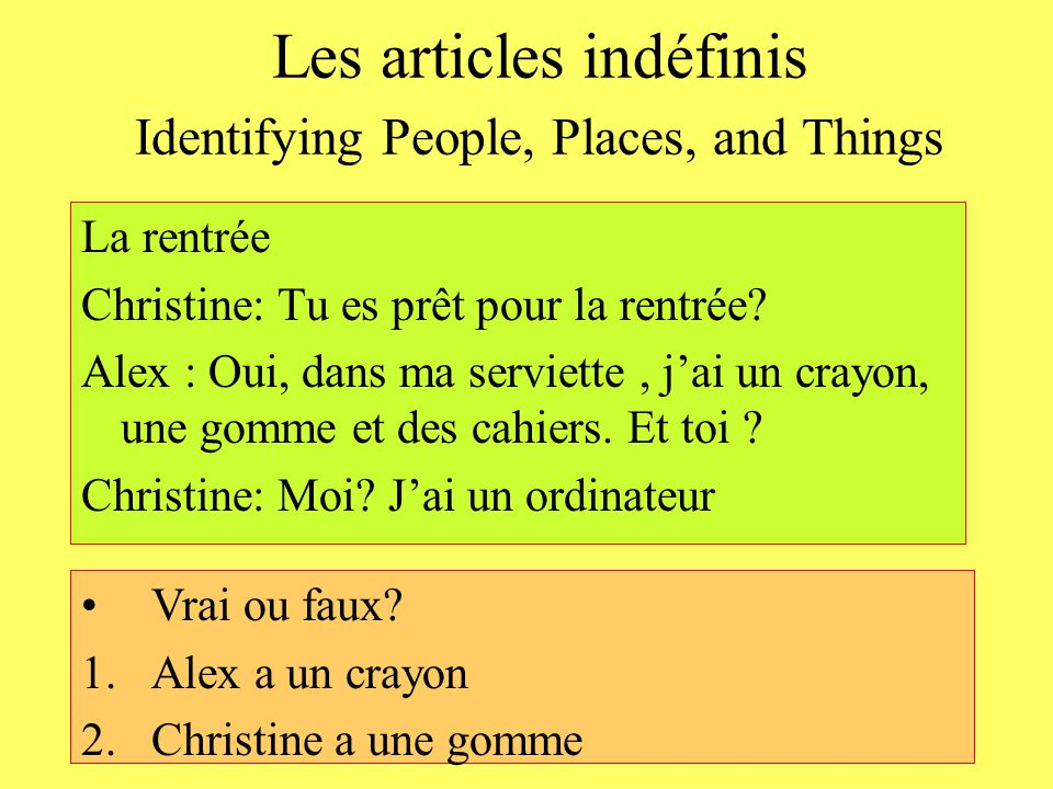 Lecon 4 - PERSPECTIVES Avant de lire French is the Romance language English was also influenced by Latin So the two languages share vocabulary items similar in form and meaning We will call it « mots apparentés » Lecture recognizing cognates