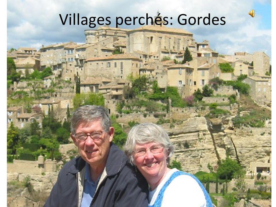 Villages perchés: Gourdon