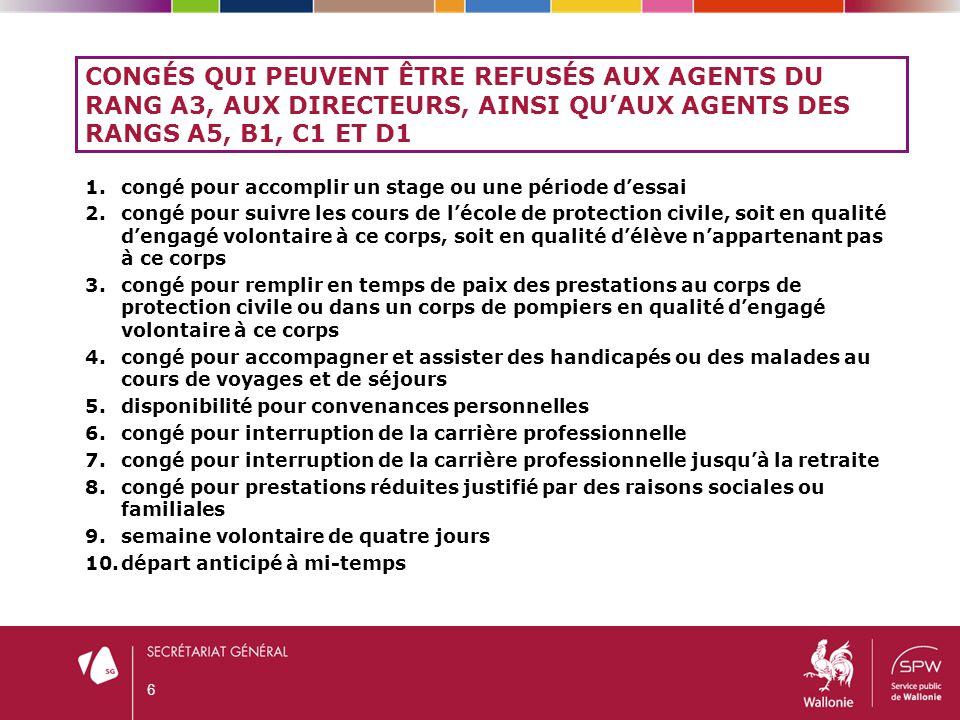 3.1.CONGÉS POUR MOTIFS IMPÉRIEUX D'ORDRE FAMILIAL (ART.
