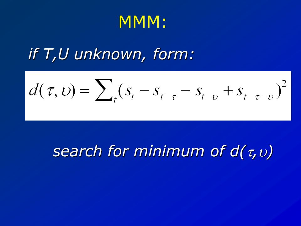 MMM: property: true if s is sum of two periodic signals with periods T, U