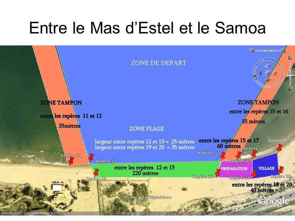 Entre le Mas d'Estel et le Samoa
