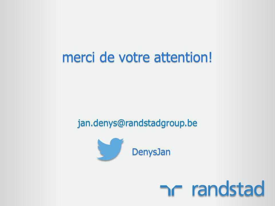 merci de votre attention! jan.denys@randstadgroup.beDenysJan