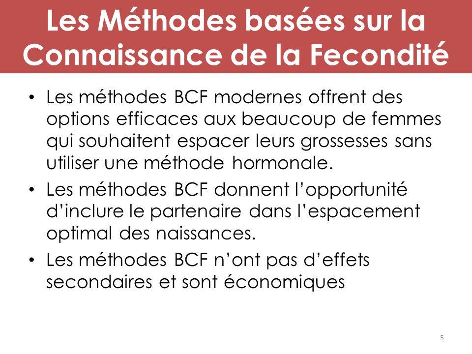Les Méthodes basées sur la Connaissance de la Fecondité Les méthodes BCF modernes offrent des options efficaces aux beaucoup de femmes qui souhaitent