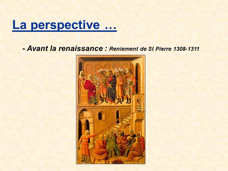 La perspective … La perspective avec point de fuite Découverte des propriétés Les lignes de fuite formant un angle de 45 ° avec le plan du tableau Dans le dessin ci-après : Repérer les images des lignes de fuite formant un angle de 45 ° avec le plan du tableau.