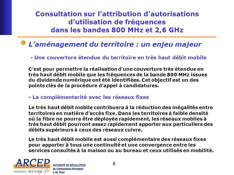 7 Débit Mobilité 10 à 50 kb/s 100 à 400 kb/s 512 kb/s 5 Mb/s 50 Mb/s 100 à 300 Mb/s La montée en débit des réseaux fixes et mobiles Mobile 55,1 millions d abonnés (30/09/08) Haut débit mobile 9,4 millions d'abonnés 3G (30/09/08) Très haut débit Très haut débit mobile Haut débit fixe 17,1 millions d abonnements (30/09/08) Fixe 40,2 millions d abonnements 34,7 millions de lignes téléphoniques (30/09/08) Très haut débit fixe